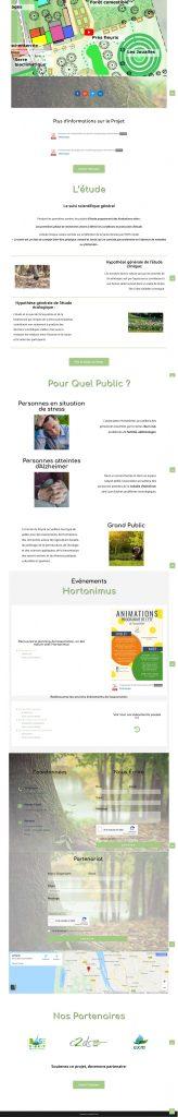 présentation site hortanimus